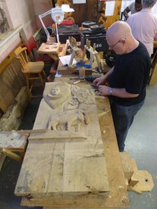 clive and carving