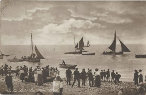 Boating (2) Silloth 1927