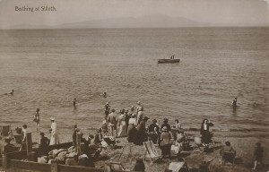 Bathing and Boating Silloth. 1915