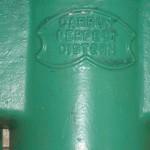 Edwardian Toilets cistern closeup DSC00245