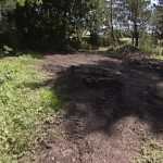 Woodland area before BMX track