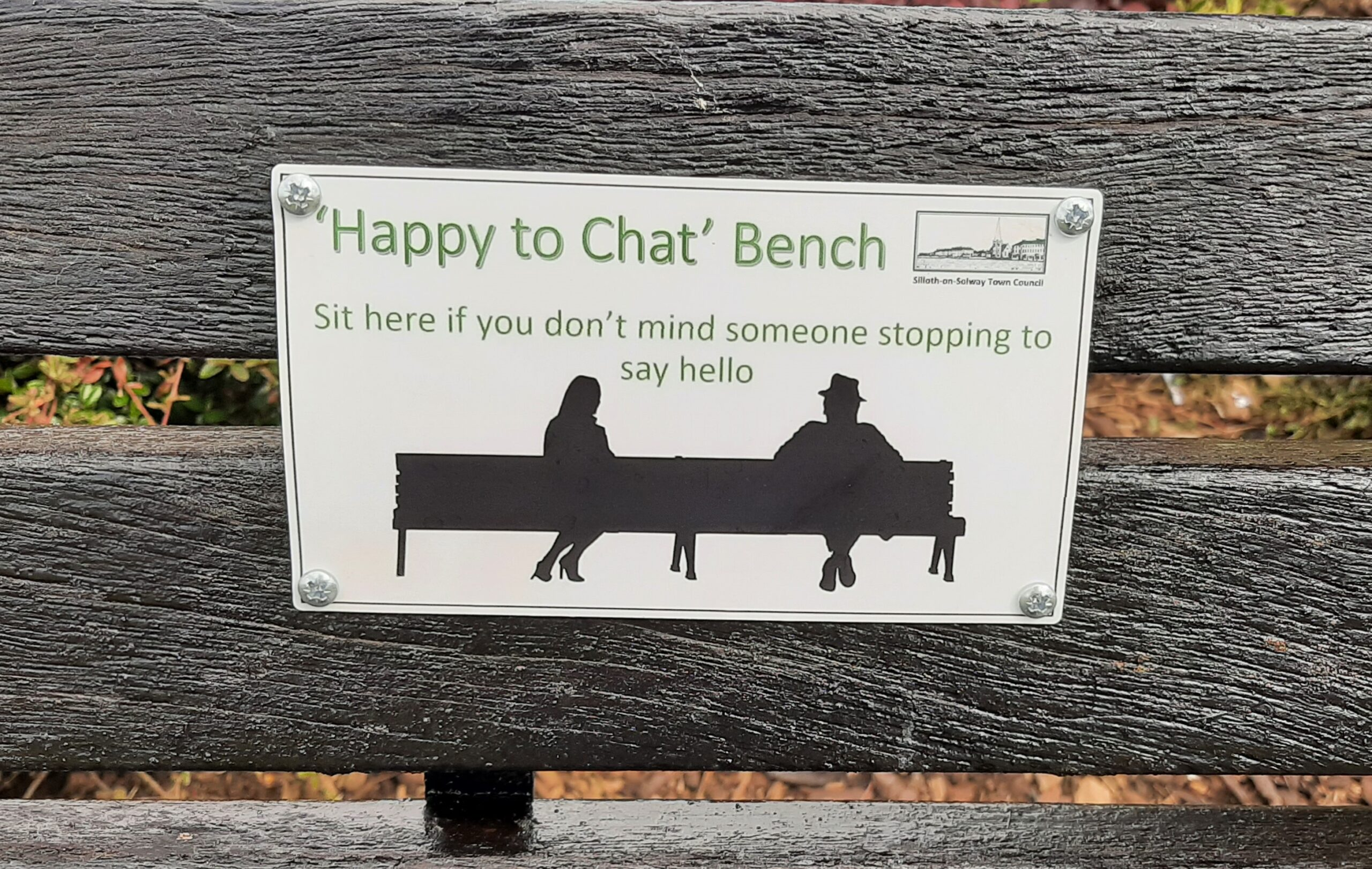 Happy to Chat Benches